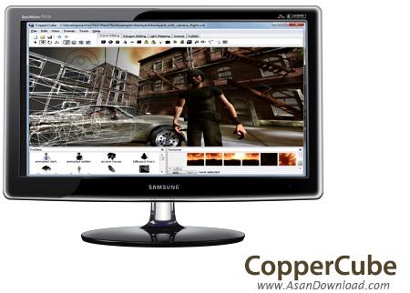 دانلود Ambiera CopperCube Pro v5.2.2 - نرم افزار ساخت برنامه های سه بعدی تحت ویندوز و تحت وب