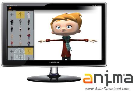 دانلود Anima v2.0.2 x64 - نرم افزار طراحی کاراکتر های انسانی سه بعدی