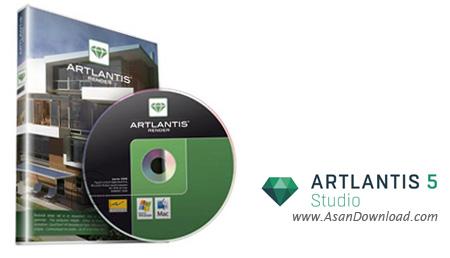 دانلود Abvent Artlantis Studio v6.5.2.14 x64 - نرم افزار طراحی سه بعدی ساختمان