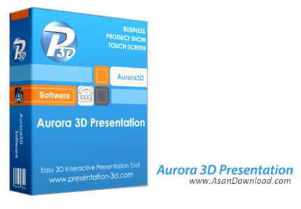 دانلود Aurora 3D Presentation v16.01.07 - نرم افزار طراحی انیمیشن و اسلایدهای سه بعدی
