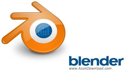 دانلود Blender v2.74 x86/x64 - نرم افزار تولید متن و تصویر 3 بعدی