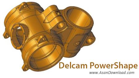 دانلود Delcam PowerShape 2014 - نرم افزار طراحی و قالبسازی