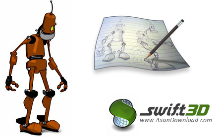 دانلود Electric Rain Swift 3D v6.0.933 - نرم افزار ساخت انیمیشن و اشکال سه بعدی