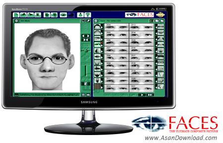 دانلود FBI CIA NSA Software Faces v4.0 - نرم افزار طراحی و چهره نگاری افراد