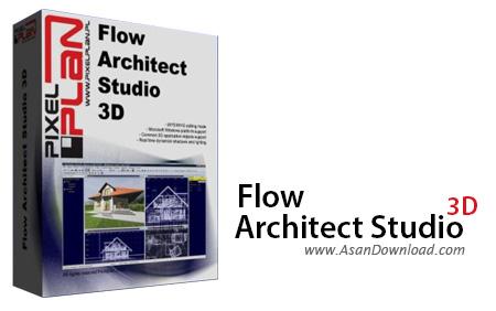 دانلود Flow Architect Studio 3D v1.8.5 - نرم افزار طراحی پلان های سه بعدی