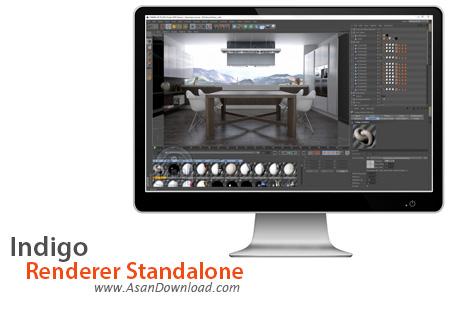 دانلود Indigo Renderer Standalone v3.8.26 - نرم افزار شبیه سازی تصاویر سه بعدی