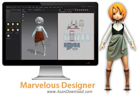 دانلود Marvelous Designer 7.5 Enterprise v4.1.100.33300 - نرم افزار طراحی لباس