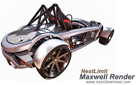 دانلود NextLimit Maxwell Render Studio v4.1.1.1 x64 - نرم افزار رندرینگ سه بعدی