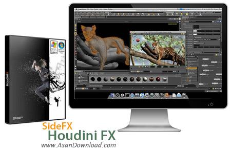 دانلود SideFX Houdini FX v16.0.621 - نرم افزار طراحی و مدلسازی 3 بعدی