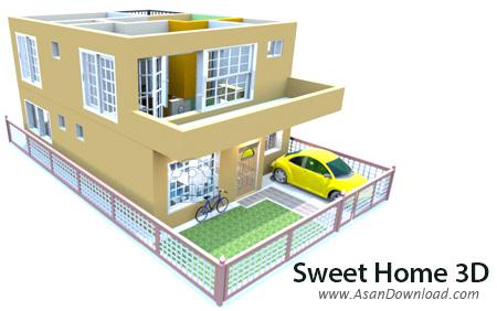 دانلود Sweet Home 3D v4.6 - نرم افزار طراحی دکوراسیون