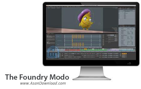 دانلود The Foundry Modo 801 SP3 - نرم افزار طراحی های سه بعدی پیشرفته