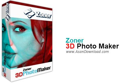 دانلود Zoner 3D Photo Maker v1.0 - نرم افزار ساخت تصاویر سه بعدی