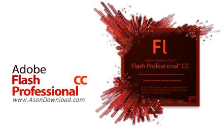 دانلود Adobe Flash Professional CC v14.0.1 x64 - نرم افزار ساخت انیمیشن های دو بعدی حرفه ای