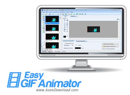 دانلود Blumentals Easy GIF Animator Pro v7.3.0.61 - نرم افزار ساخت بنرهای تبليغاتی انیمیشن