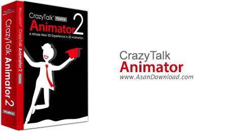 دانلود CrazyTalk Animator Pipeline v3.3.3007.1 + Resource Pack - نرم افزار طراحی انیمیشن متحرک و سخنگو