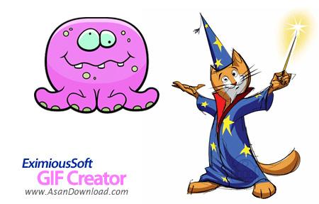 دانلود EximiousSoft GIF Creator v7.10 - نرم افزار طراحی بنر و انیمیشن های جذاب