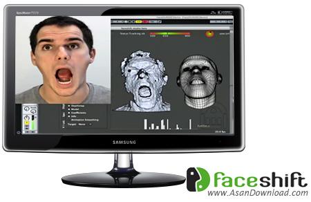 دانلود Faceshift Studio v2014.1.00 x64 - نرم افزار شبیه سازی حرکات صورت