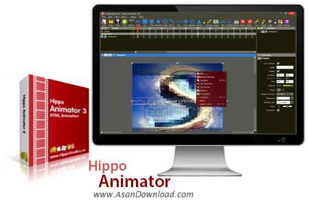دانلود Hippo Animator v3.8.5303 - نرم افزار طراحی انیمیشن