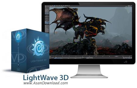 دانلود LightWave v11.6.3.2737 + v2015 + Content - نرم افزار ساخت انیمیشن 3 بعدی