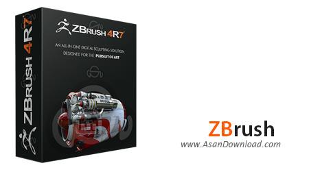 دانلود Pixologic ZBrush v4R8 P1 x64 - نرم افزار طراحی انیمیشن های سه بعدی