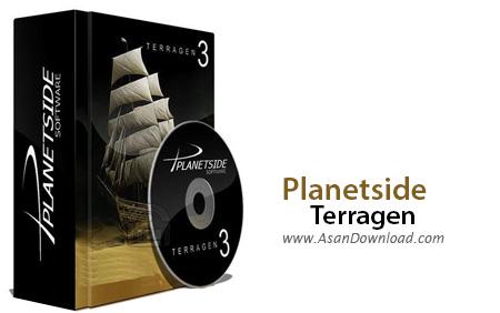 دانلود Planetside Terragen Pro Animation v3.2.02.0 - نرم افزار طراحی محیط های طبیعی