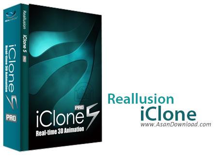 دانلود Reallusion iClone Pro v7.22.1724.1 + Resource Pack - نرم افزار ساخت انیمیشن 3 بعدی
