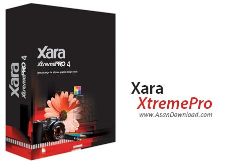دانلود Xara Xtreme Pro v4.0.1.5601 - نرم افزار طراحی تیزرهای تبلیغاتی
