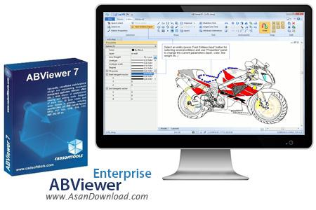دانلود ABViewer Enterprise v12.1.01 - نرم افزار نمایش و ویرایش فایل های نقشه کشی