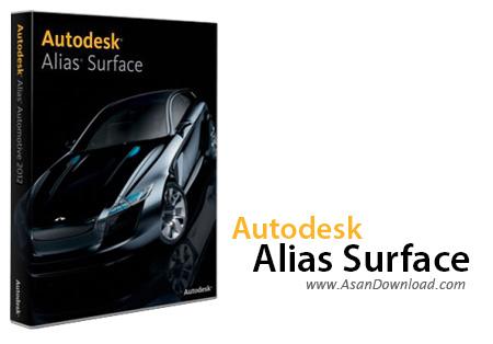 دانلود Autodesk Alias Surface v2019 - نرم افزار طراحی بدنه ماشین ها