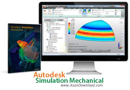 دانلود Autodesk Simulation Mechanical 2015 - نرم افزار شبیه سازی ماشین ها