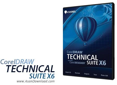 دانلود CorelDRAW Technical Suite v20.1.0.707 - نرم افزاری حرفه ای برای طراحی های مهندسی