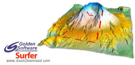 دانلود Golden Software Surfer v15.5.382 - نرم افزار ترسیم نقشه های مهندسی