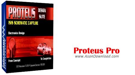 دانلود Proteus Pro v8.7 SP3 Build 25561 - نرم افزار طراحی و شبیه سازی مدارات الکترونیکی