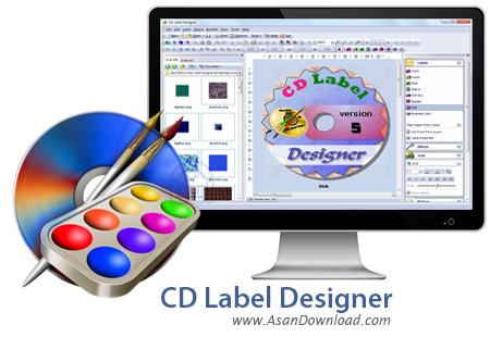 دانلود CD Label Designer v5.4 - نرم افزار طراحی انواع لیبل