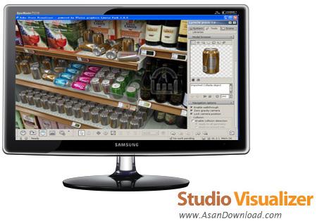 دانلود Studio Visualizer v14.0.1 - نرم افزار طراحی سه بعدی بسته بندی محصولات