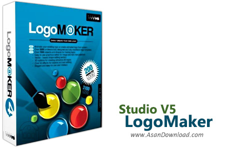 دانلود نرم افزار طراحی لوگو و آرمدانلود Studio V5 LogoMaker v4.0 - نرم افزار طراحی و ساخت لوگو