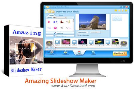 دانلود Amazing Slideshow Maker v3.4.6 - نرم افزار ساخت اسلایدشو