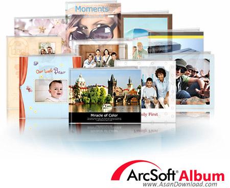 دانلود ArcSoft Album v4.3.0.914 - نرم افزار ساخت آلبوم عکس دیجیتال