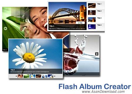 دانلود Dreamingsoft Flash Album Creator v2.1.7.2602 - نرم افزار ساخت اسلاید و آلبوم عکس فلش