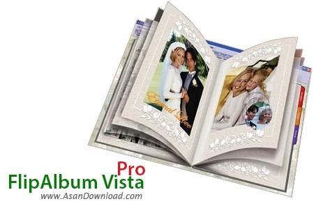 دانلود FlipAlbum Vista Pro v7.0.1.363 - نرم افزار ساخت آلبوم های دیجیتالی