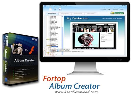 دانلود Fortop Album Creator v1.9 - نرم افزار خلق آلبوم های دیجیتالی جذاب