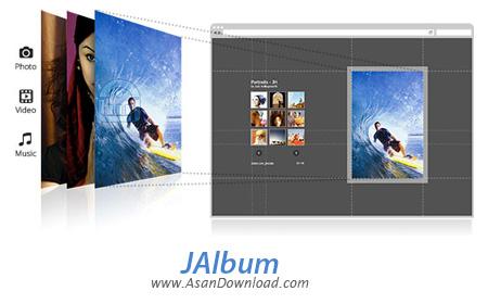 دانلود JAlbum v13.7 x86/x64 - نرم افزار ساخت آلبوم عکس