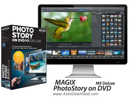 دانلود PhotoStory on DVD MX Deluxe v11.0.4.85 - نرم افزار تهیه آلبوم عکس