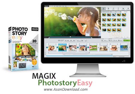 دانلود MAGIX Photostory 2014 Deluxe v13.0.5.94 + Easy v1.0.5.18 - نرم افزار ساخت آلبوم دیجیتال