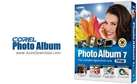 دانلود Corel Photo Album v7.0 - نرم افزار طراحی و ساخت آلبوم دیجیتالی