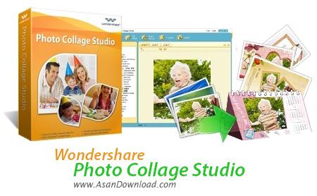 دانلود Wondershare Photo Collage Studio v4.2.16 - نرم افزار ساخت مجموعه تصاویر