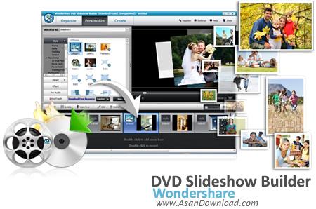دانلود Wondershare DVD Slideshow Builder v6.7.2 - نرم افزار ساخت دی وی دی اسلایدشو از تصاویر