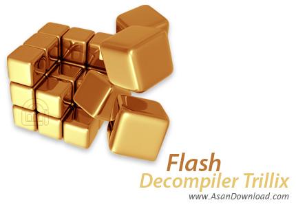 دانلود Flash Decompiler Trillix v5.3 - استخراج محتویات فایل های SWF