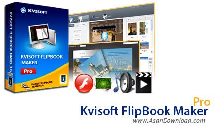 دانلود Kvisoft FlipBook Maker Pro + Enterprise v4.3.4.0 - نرم افزار ساخت کتاب های الکترونیکی مدرن
