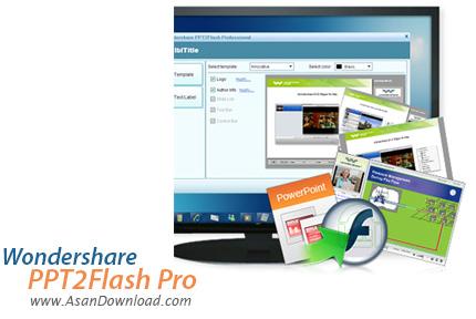 دانلود Wondershare PPT2Flash Pro v5.6.7.43 - نرم افزار مبدل پاور پوینت به فلش